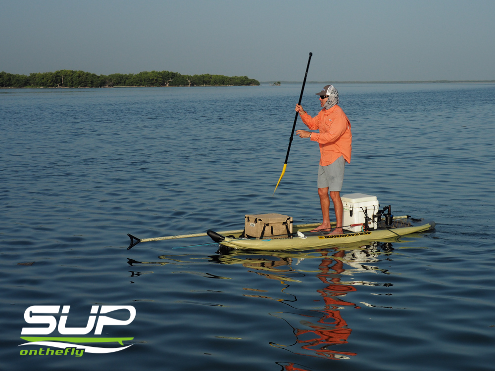 Yucatan fishing trip may 2015 sup on the fly for Fly fishing paddle board