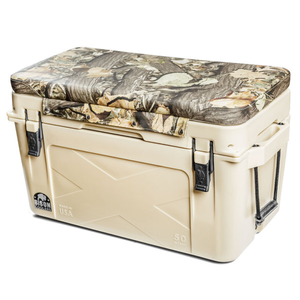 Bison Sup Cooler Camouflage Seat Cushion Sup On The Fly