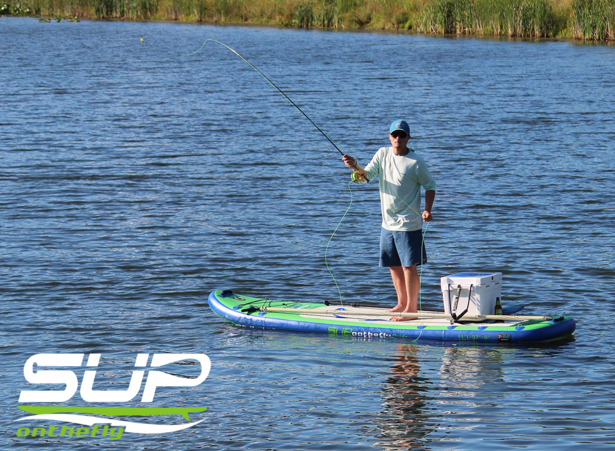 Inflatable stand up paddleboards for families and adventurers for Inflatable fishing sup