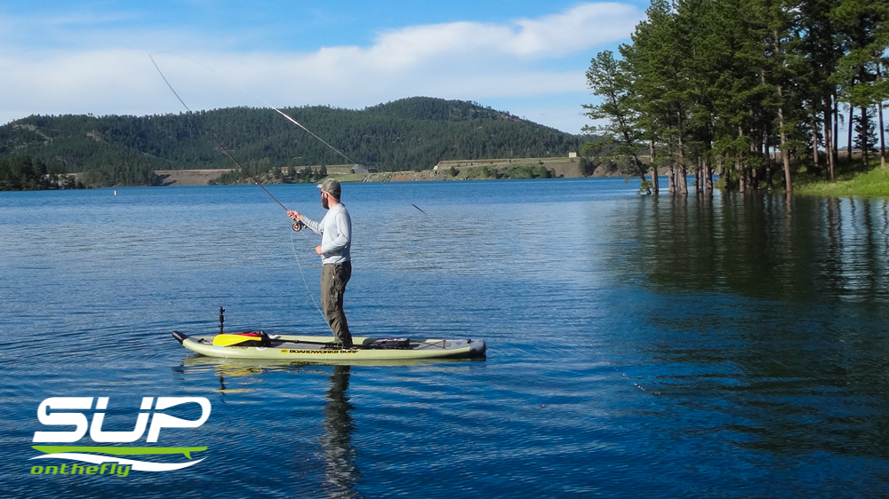 Black hills fly fishing for Fly fishing paddle board