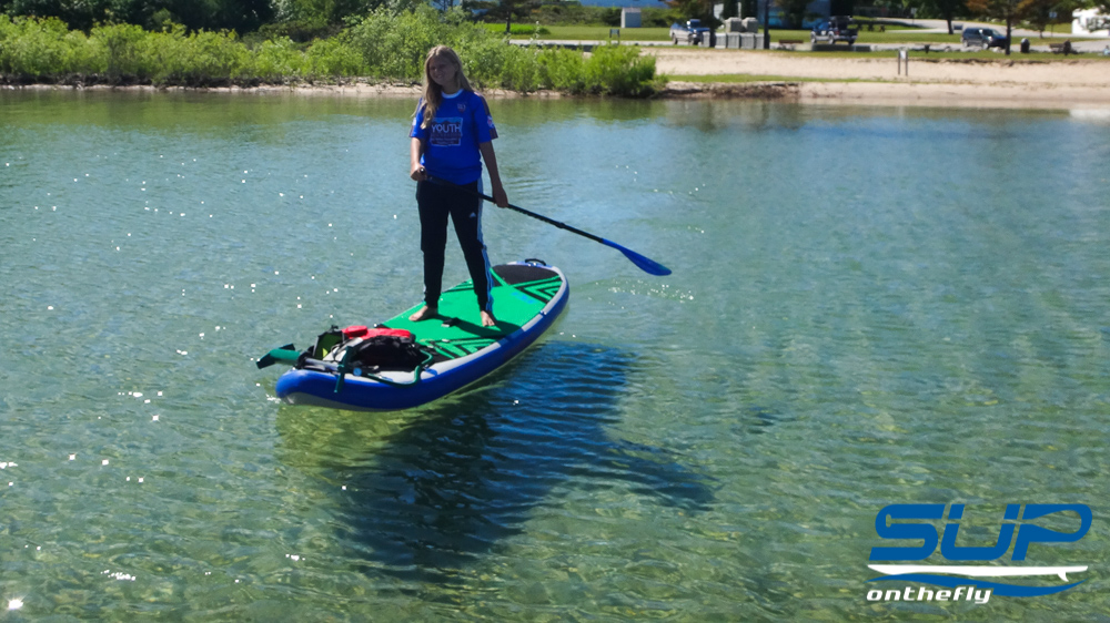 Beaver island fresh water fishing suponthefly for Fly fishing paddle board