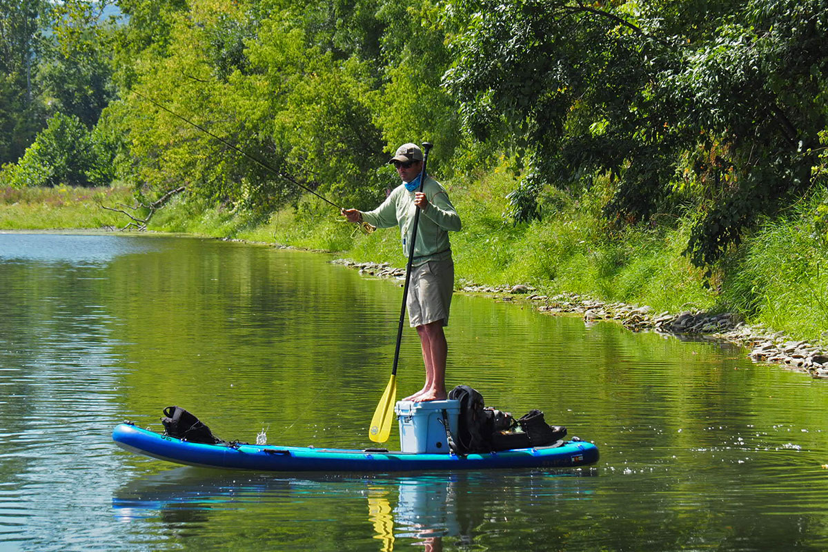 Photo gallery sup on the fly for Fly fishing paddle board