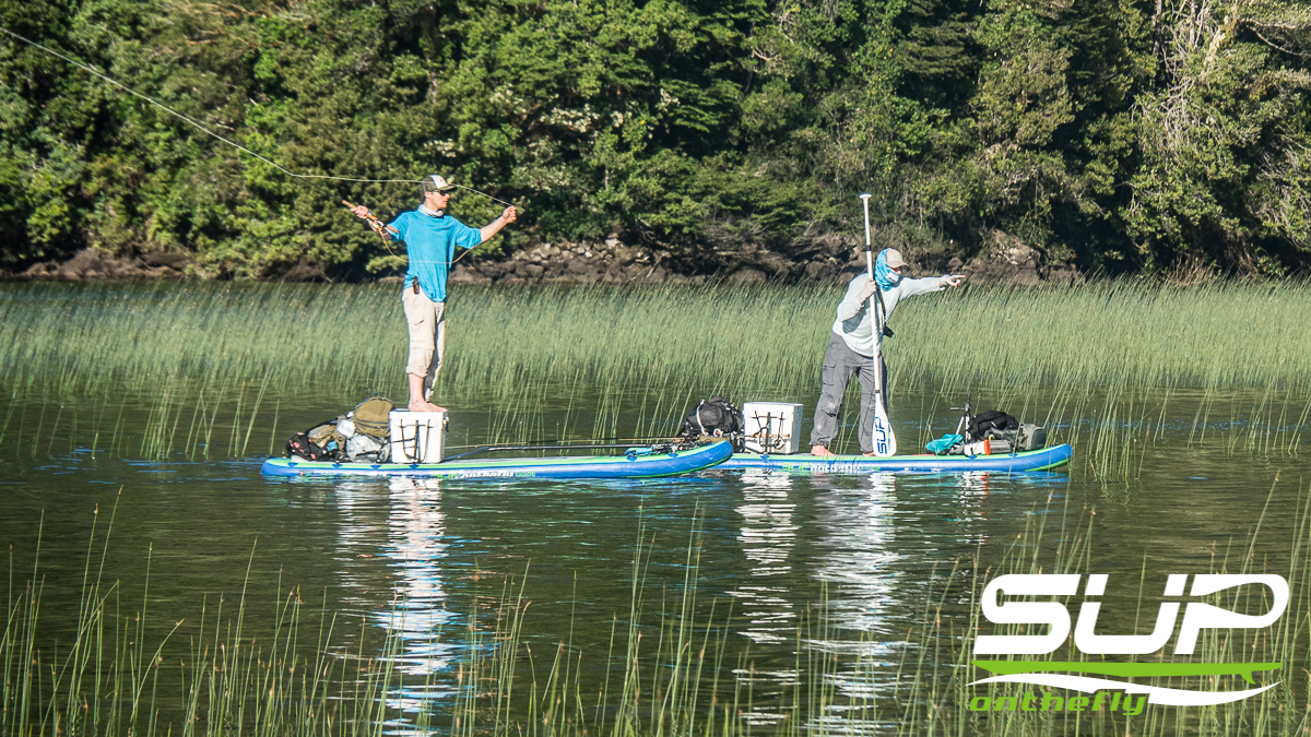Stand Up Paddle Board Fly Fishing